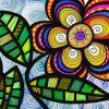 Schilderen op nummer - Abstracte bloemen tekening 💐