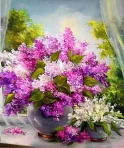 Schilderen op nummer - Bos bloemen 💐