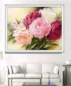 Schilderen op nummer - Gekleurde rozen 💐