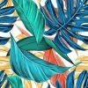 Schilderen op nummer - Gekleurde tropische bloemen 💐