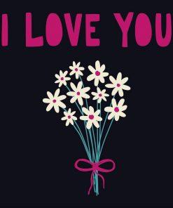 Schilderen op nummer - I Love You bloemen 💐