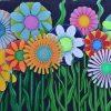 Schilderen op nummer - Mooie bloemen tekening 💐