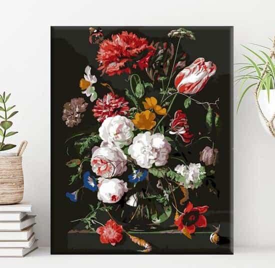 Schilderen op nummer - Bloemen in vaas 💐