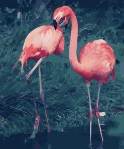 Exotic Flamingo