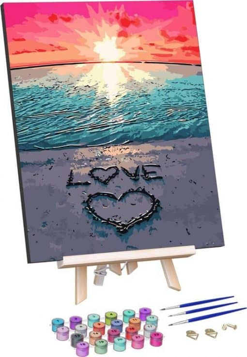 Zonsondergang Love