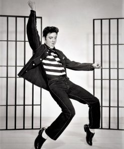 Elvis Presley dansend