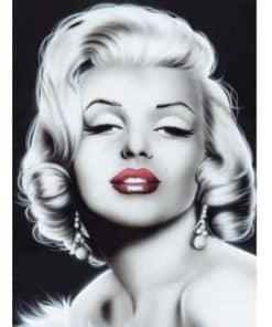 Marilyn Monroe in zwart wit