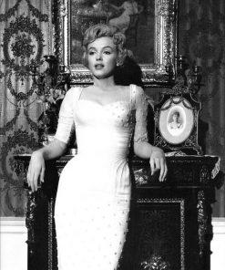 Marilyn Monroe staand portret