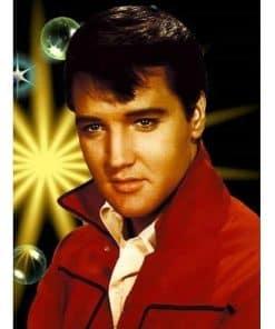Portret Elvis Presley
